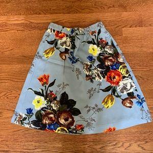 Boden Oona Straight Skirt Multi-Color